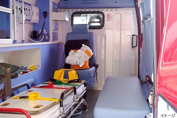 救急車内部