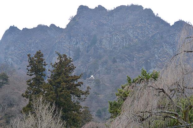 妙義山の白雲山