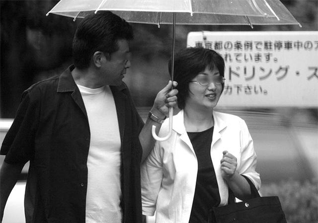 三浦友和さんと山口百恵さん夫妻