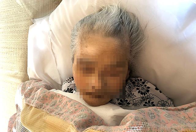 3月12日16:5分、母死す。