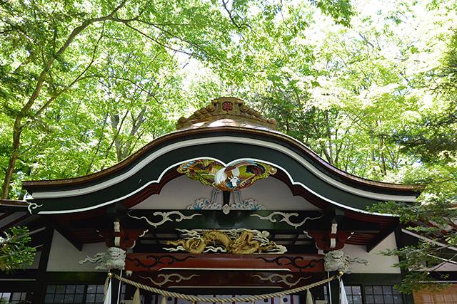 新屋山神社(あらや やまじんじゃ)・本宮