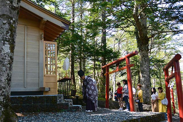 新屋山神社・奥宮