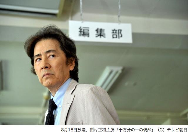 田村正和、松本清張『十万分の一の偶然』