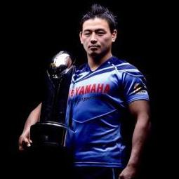 五郎丸は今もヤマハ発動機ジュビロの中心選手