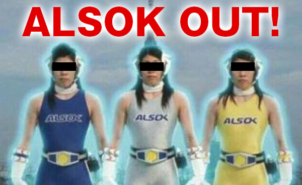 ALSOK OUT!