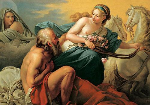 曙の女神エーオースとティトノス